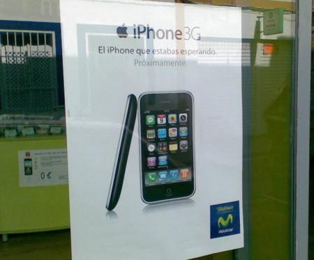 Primeras imágenes de la publicidad del iPhone con Movistar en España