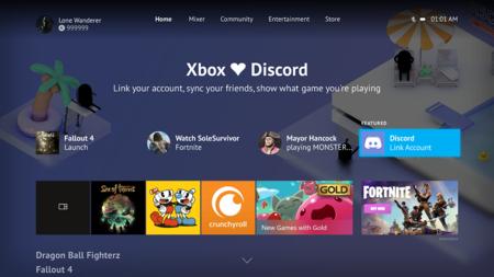 Xbox One recibe la actualización de Mayo junto con  Discord, una mayor tasa de refresco y más novedades