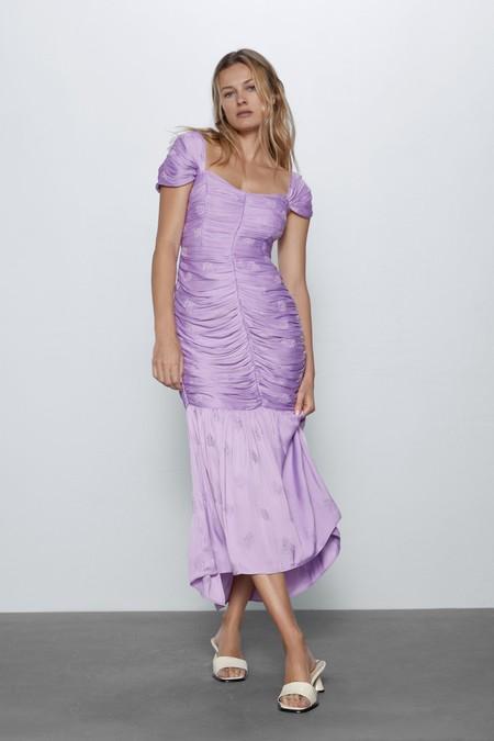 Vestido Invitada Zara Midi 03
