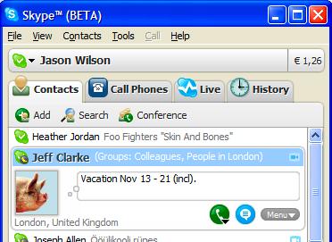 Descarga Skype 3.0, la primera beta para Windows