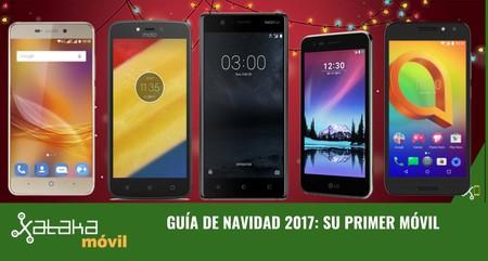 Guía de compras de Navidad: su primer móvil