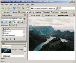 MozImage, un visualizador de imágenes dentro de Firefox