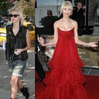 Taylor Momsen: negro de día, rojo de noche