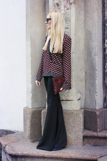 Flared Trousers Street Style 2