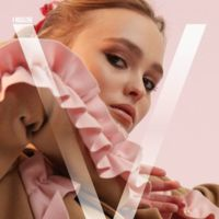 V ##101 Summer 2016 Digital Cover: Lily-Rose Depp