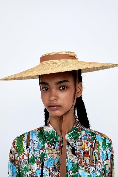 Zara Sombrero Jacquemus Clon