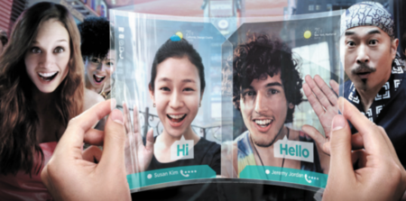 Samsung YOUM es el nombre para las pantallas flexibles AMOLED