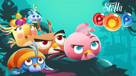 Angry Birds Stella POP! para Android, explota burbujas de colores en el nuevo juego de Rovio