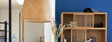 De ratán, de bambú, de cáñamo... Las lámparas de tejidos naturales son tendencia para tener una casa sostenible (y con estilo)