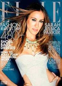 Sarah Jessica Parker en Elle, cuando el photoshop no te deja ver el resto