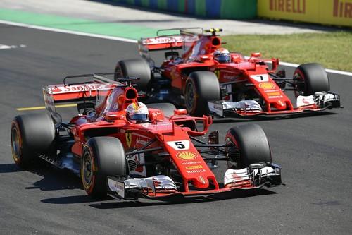 Vettel conquista el GP de Hungría y adelanta a Hamilton por 14 puntos en el campeonato