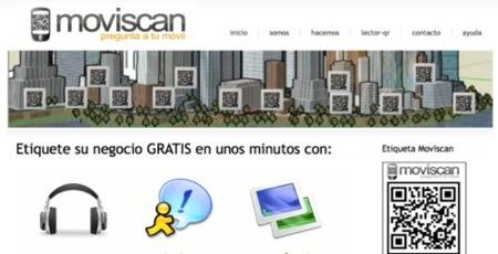 Moviscan, códigos QR para tu negocio