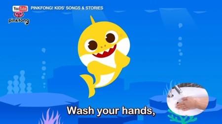 'Wash your hands': la nueva versión de la canción 'Baby Shark' en tiempos de coronavirus