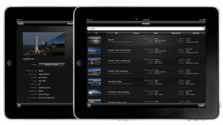 Cliptouch, cliente de Final Cut Server para iPad