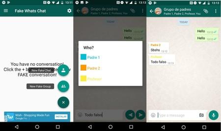 Falsificar Conversacion Whatsapp