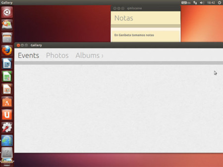Notes y Gallery Ubuntu Touch Apps