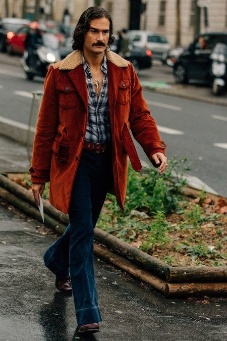 El Mejor Stret Style De La Semana Se Viste De Pana En Sus Looks De Transicion Al Otono 09