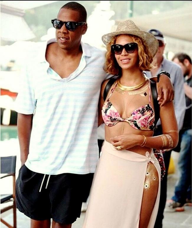 Beyonce enamorada de la moda de TopShop