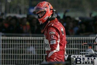 Schumacher empieza a hartarse