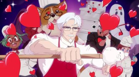 La cadena de restaurantes de comida KFC prepara su propio simulador de citas y hasta podremos conquistar al mismísimo Coronel Sanders