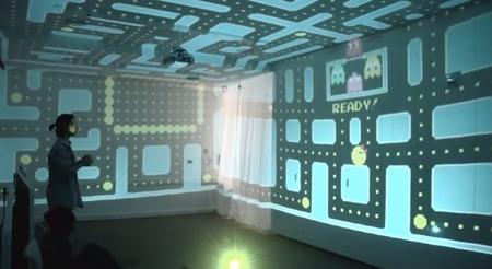 ¿Te sobra una habitación en casa? Móntate un Pac-Man tridimensional