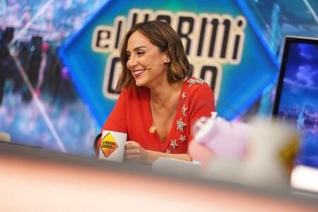 Tamara Falcó en El Hormiguero: del jersey de estrellas perfecto para Navidad a la fecha oficial para ser marquesa de Griñón
