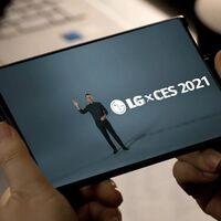 LG muestra por fin su móvil con pantalla enrollable: el LG Rollable es oficial y ya aparece en vídeo