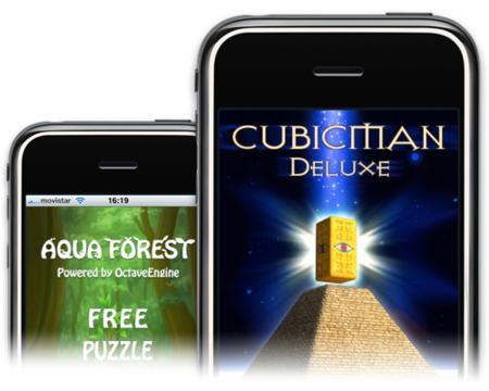 aquafores cubicman iphone