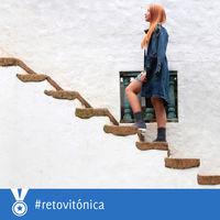 #RetoVitonica: si vas a subir menos de tres pisos, utiliza las escaleras
