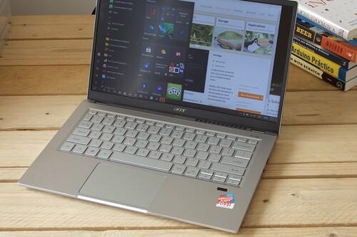 Acer Swift 3, análisis: un ultrabook ligero que presume del Ryzen 7 5700U