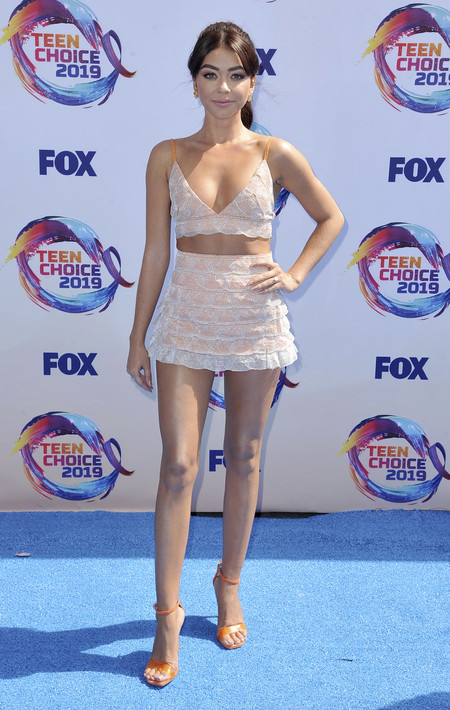 Teen Choice Awards 2019 Sarah Hyland Teresa Helbig