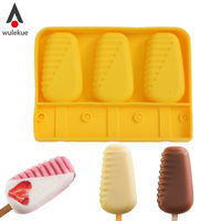 Moldes de silicona para helados con palo en Aliexpress por sólo 5,94 euros y gastos de envío gratuitos