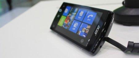Acer W4, se desvela su primer Windows Phone 7