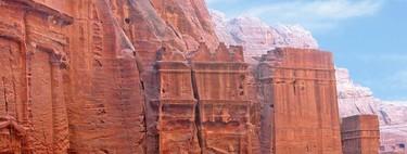 Algunos detalles sobre Petra, Jordania