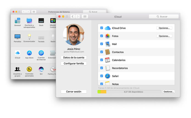 Icloud Configuracion Mac