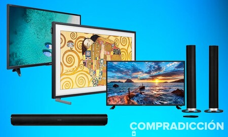 Smart TVs y televisores con y sin barras de sonido para ahorrar equipando tu salón: descuentos en Amazon en modelos de Samsung Sharp y Schneider