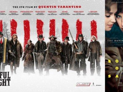 Estrenos de cine | 15 de enero | Los odiosos de Tarantino, la chica danesa y el hijo de Saúl
