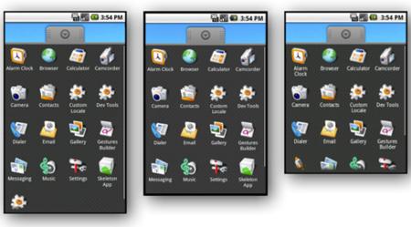 Android, pantallas, aceleración gráfica y el problema de la fragmentación.