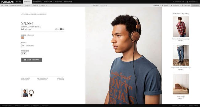 Hombre  Pull and bear tienda online