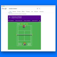 Cómo jugar a este minijuego de tenis que está oculto en Google: compite con la máquina y con tus amigos
