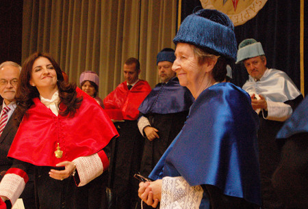Margarita Salas Y Santiago Grisolia Doctores Honoris Causa Uned 10 1