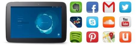 Ubuntu on tablets - Apps