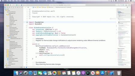 El nuevo editor de Xcode 11