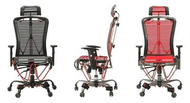 GymyGym, una silla de trabajo para hacer ejercicio