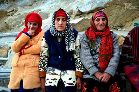 mujeres tayikas