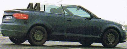 Fotos espía del Audi A3 cabrio