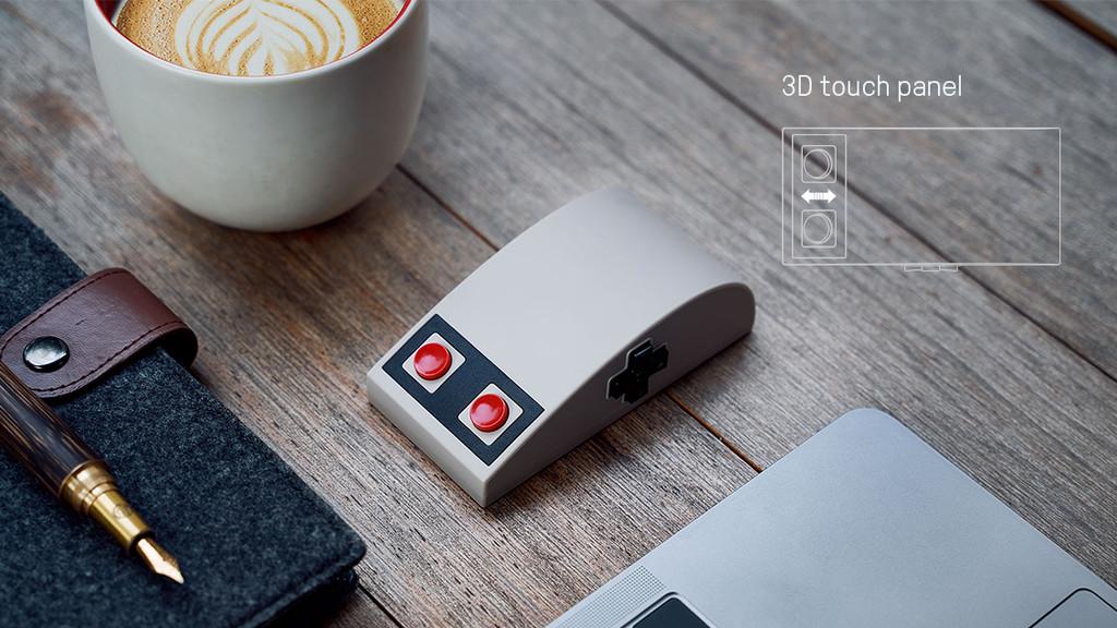 Con este ratón podrás navegar y jugar en PC casi como si estuvieras usando un mando de NES