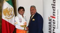 Sergio Pérez llega a Force India