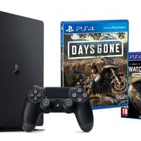 Un poquito más barata, la PS4 Slim de 500 GB con Days Gone y Watch Dogs Complete Edition ahora en eBay te sale por 289,95 euros