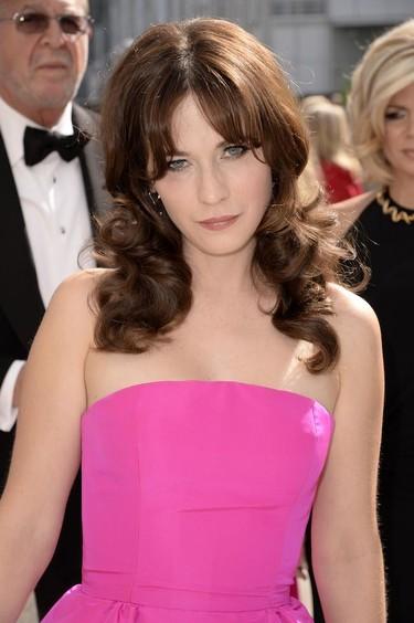 Zooey Deschanel vive la vida en rosa en los #Emmys2014